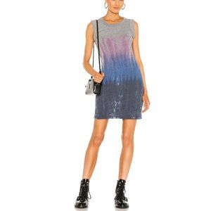 Chaser Triblend Jersey Rolled Armhole Tank Dress S